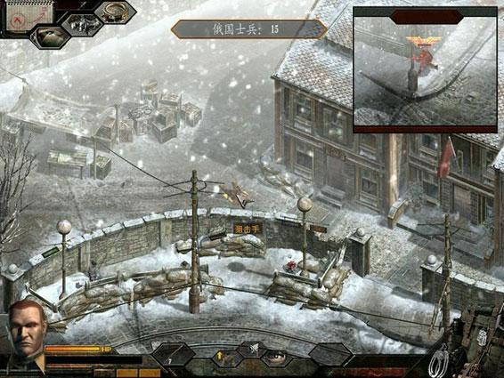 密室敢死队3繁体柏林目标中文版简体汉化中文逃脱盟军16攻略图解法图片
