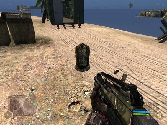《孤岛危机》(Crysis)是一款科幻题材的第一人称射击游戏,此游戏由德国游戏开发商Crytek制作开发,并由美国艺电发行,是孤岛危机三部曲的第一部。《孤岛危机》的背景发生在一群外星机器的船舰在地底被发现,玩家扮演三角洲特种部队中暴龙小队的成员诺曼(Nomad)进行搜索和撤离的任务。