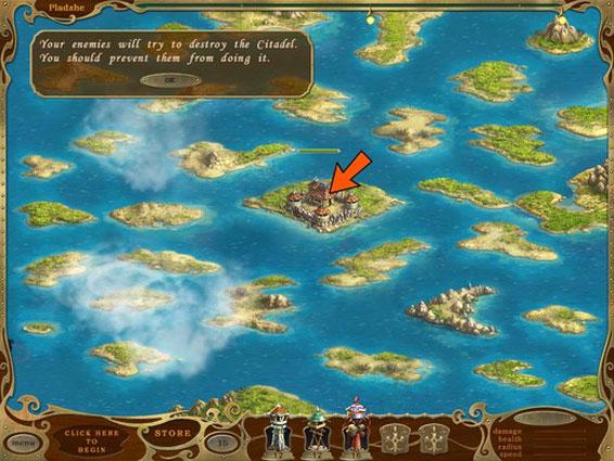 岛屿防御简体汉化中文版单机游戏下载,单机版,游戏