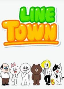 Line Town 社交网络