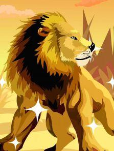草原霸主-狮子