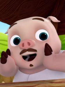 三只小猪与功夫潘达