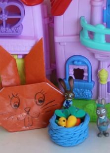 儿童手工折纸DIY