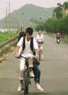 賣自行車的小女孩