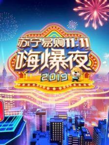 2019湖南衛視蘇寧易購11.11嗨爆夜